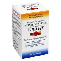 Produktbild Schwarzkümmelöl Immerfit Kapseln