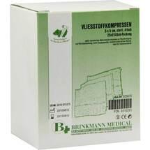 Vliesstoff-Kompressen 5x5 cm steril 4fach