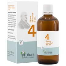 Produktbild Biochemie Pflüger 4 Kalium chloratum D 6 Tropfen