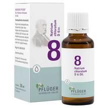 Produktbild Biochemie Pflüger 8 Natrium chloratum D 6 Tropfen