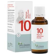 Produktbild Biochemie Pflüger 10 Natrium sulfuricum D 6 Tropfen