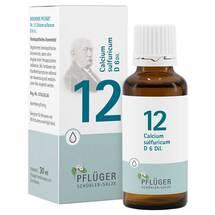Produktbild Biochemie Pflüger 12 Calcium sulfuricum D 6 Tropfen