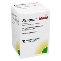 Produktbild Pangrol 10000 Hartkapseln mit magensaftresistent überzogene Pell.