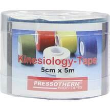 Pressotherm Kine-Med-Tape 5cmx5m blau