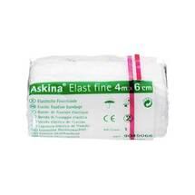 Produktbild Askina Elast Fine Binde 4mx6cm cellophaniert