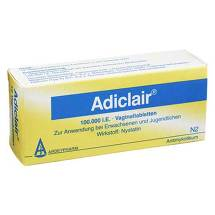 Adiclair Vaginaltabletten