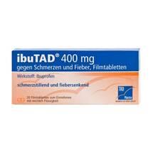 Produktbild Ibutad 400 mg gegen Schmerzen und Fieber Filmtabletten