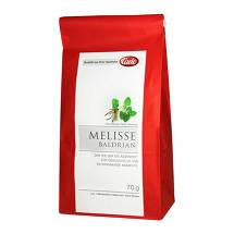 Produktbild Caelo Melisse Baldrian Tee HV Packung