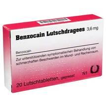 Produktbild Benzocain Lutschdragees