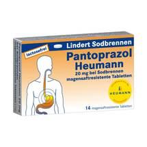 Produktbild Pantoprazol Heumann 20 mg b.Sodbrennen magensaftresistent Tabletten