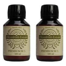 Produktbild Olivenblatt Extrakt Premium 90% Doppelpack