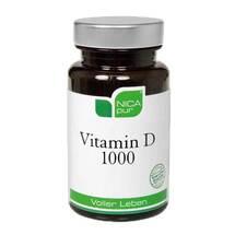 Produktbild Nicapur Vitamin D 1000 Kapseln