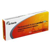 Pantoprazol Actavis protect 20 mg magensaftresistent Tabletten