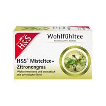 H&S Misteltee Mischung mit Zitronengras Filterbeutel