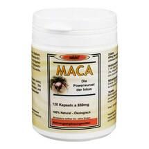 Produktbild Maca Kapseln 850 mg Macawurzelpulv.a.Ökoanbau