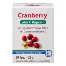 Produktbild Cranberry + C Kapseln