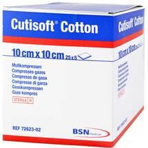 Produktbild Cutisoft Cotton Kompresse 10x10cm 8fach