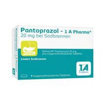 Pantoprazol 1A Pharma 20 mg bei Sodbrennen magensaftresistent Tabletten