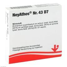 Produktbild Neyathos Nr.43 D 7 Ampullen