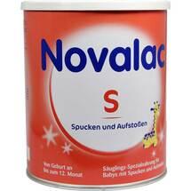 Produktbild Novalac S Spezialnahrung bei Spucken Aufst.0 - 12 M.