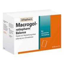 Produktbild Macrogol ratiopharm Balance Pulver zur H.e.Lösung zum Einnehmen
