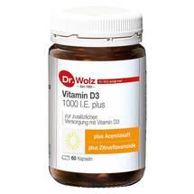 Produktbild Vitamin D3 1000 I.E. plus Dr. Wolz Kapseln