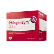 Produktbild Phlogenzym aktiv magensaftresistente Tabletten