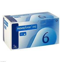 Novofine 6 Kanülen 0,25x6 mm 31 G