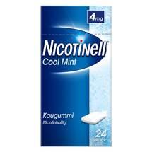 Produktbild Nicotinell Kaugummi 4 mg Cool Mint mit Zahnweiß-Effekt