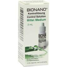 Bionano Blutzucker Kontrolllösung mittel