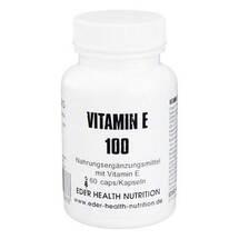 Produktbild Vitamin E 100 Kapseln