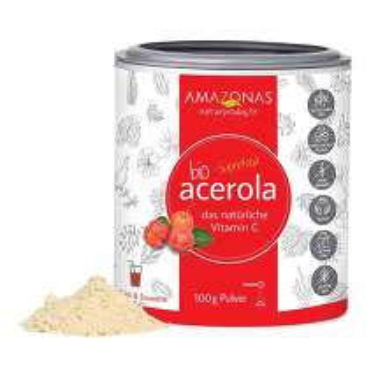 Produktbild Acerola 100% Bio Pur nat.Vit