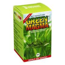 Green Magma Gerstengrasextrakt Tabletten