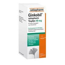 Ginkobil ratiopharm Tropfen 40 mg