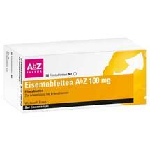 Produktbild Eisentabletten AbZ 100 mg Filmtabletten