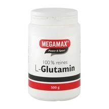 Produktbild Glutamin 100% rein megamax Pulver