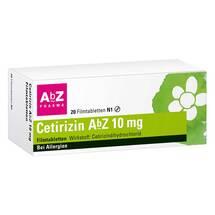 Produktbild Cetirizin AbZ 10 mg Filmtabletten