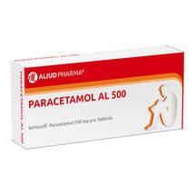 Produktbild Paracetamol AL 500 Tabletten