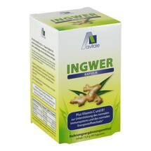 Produktbild Ingwer 500 mg Kapseln + Vitamin B1 + C