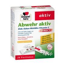 Produktbild Doppelherz Abwehr aktiv Zink+Selen+Histidin direct Pellets