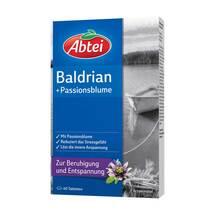 Abtei Baldrian plus Passionsblume überzogene Tabletten