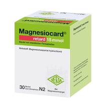 Produktbild Magnesiocard retard 15 mmol Beutel mit ret.Filmtabletten