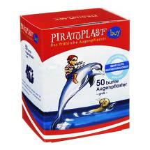 Piratoplast Boy Augenpflaster groß 57x72mm