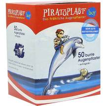 Piratoplast Boy Augenpflaster extra groß 57x80mm