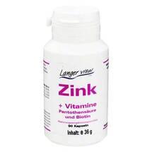 Produktbild Zink Kapseln + Biotin und Pantothensäure