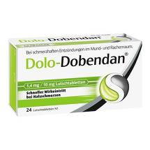 Dolo-Dobendan 1,4 mg / 10 mg Lutschtabletten