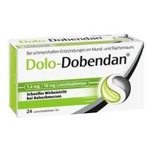 Produktbild Dolo-Dobendan 1,4 mg / 10 mg Lutschtabletten