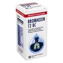 Produktbild Bromhexin 12 BC Tropfen zum Einnehmen