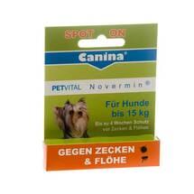 Produktbild Petvital Novermin flüssig für Hunde bis 15 kg
