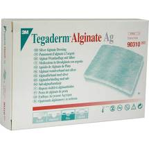 Tegaderm Alginate Ag FK Wundauflage 5x5cm 90310